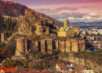 Gruzie: levné letenky - Tbilisi s odletem z Prahy od 5 490 Kč