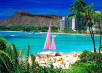 Havajské ostrovy: levné letenky - Honolulu s odletem z Edinburghu již od 10 242 Kč