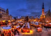 Kouželná trojice vánočních trhů Praha Tallinn Oslo Brusel Praha za skvělou cenu 6999 Kč
