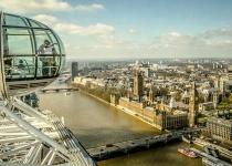 Letecký zájezd do Londýna, s letenkou z Vídně a ubytováním za 5890 Kč