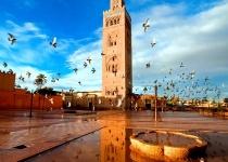 Letecký zájezd do Marrakéše s ubytováním v 5* hotelu se snídaní z Vídně