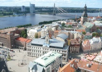 Levné letenky Vídeň Riga a zpět  za 1371 Kč
