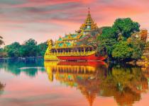 Myanmar: Levné letenky - Yangon s odletem z Mnichova již od 12 594 Kč