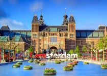 Pobyt v Amsterdamu s letenkou z Prahy na 3 dny ubytováním ve 4* hotelu, se snídaní.za 6490 Kč