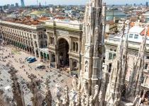 Pobyt v Miláně s ubytováním a odletem z Vídně za 4390 Kč