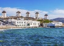 Řecko: levné letenky - ostrov Mykonos s odletem z Londýna již od 2 151 Kč