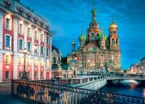 Rusko: levné letenky - Petrohrad s odletem z Prahy již od 3 989 Kč