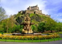 Skotský Edinburgh s odletem z Vídně, a ubytováním za 3890 Kč