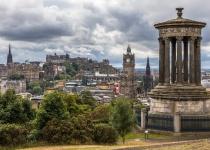 Super cena letenek Praha Edinburgh a zpět za 1156 Kč