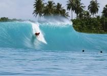 Indonéský ostrov Sumatra