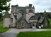 Hrad Fraser ve Skotsku