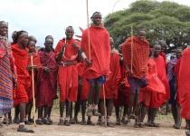 Dovolená v Keňi - život s Masaji