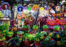 Svátek zesnulých v Mexico City