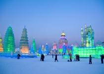 Festival ledových soch v Charbinu, Čína