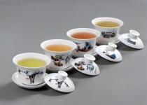 Zkuste si vychutnat tradiční čínský čaj v Čcheng-tu