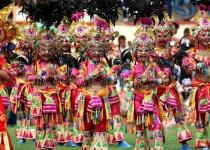 Festivaly na ostrově Bohol - Filipíny