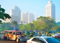 Manila - metropole Filipín