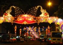 Vánoce a zima v Goa, Indie