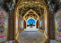 Dokonalá symetrie íránských mešit