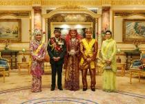 Setkání s brunejským sultánem
