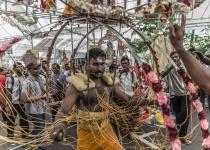 Thaipusam – nejvýznamnější hinduistický svátek v Kuala Lumpur