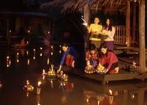 Festival Loi Krathong v Thajsku
