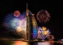 Nejlepší místa pro pozorování novoročích ohňostrojů v Dubaji