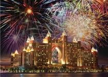 Nový rok v Dubaji