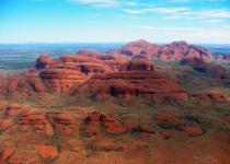 Kata Tjuta: méně známá sestra Uluru Austrálie