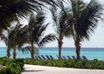 Bahamy a jeho pláž Half Moon Cay