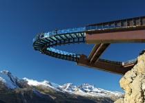 Kanadská horská vyhlídka Glacier Skywalk