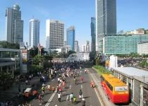 Jakarta - hlavní město Indonésie