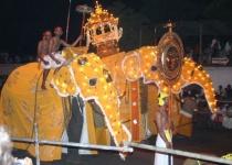 Buddhistický svátek zubu na Srí Lance
