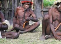 Poprvé na Papuy-Nova Guinea