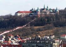 Příbram, Svatá hora a zámek Březnice