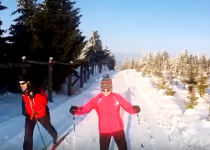 Sportovní komplex Klíny v Krušných horách