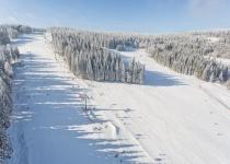 Šumava v zimě