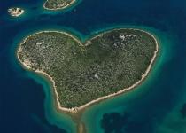 Ostrov lásky v Chorvatsku