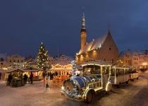 Vánoce v estonském Tallinu