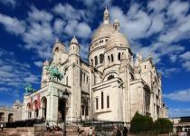 Bazilika Sacré-Cœur na pařížském Montmartru