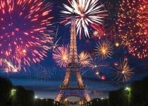 Nový rok v Paříži