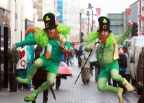Svátek svatého Patrika v Dublinu