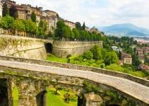 Bergamo Alta a Bergamo Bassa