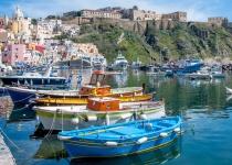 Italské ostrovy Ischia a Capri