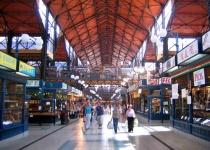 Světoznámá tržnice v Budapešti