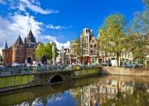 Život na vodě v Amsterdamu