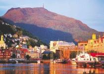Bergen – historické město v Norsku