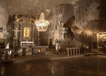 Malá návštěva solného dolu Wieliczka
