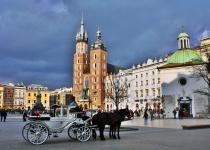 Památky v Krakowě