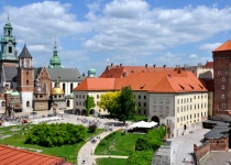 Vydejte se obdivovat královský hrad Wawel v polském Krakově